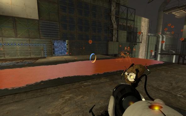 Portal 2 Red Gel