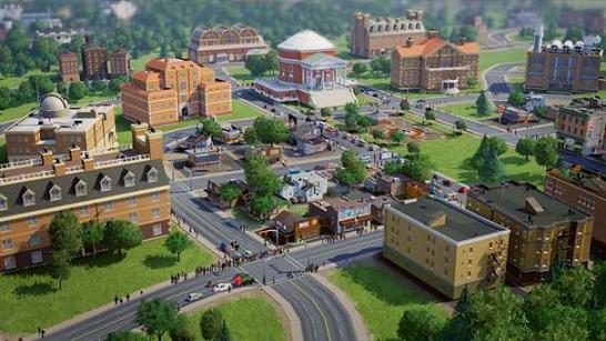 SimCity E3 2012