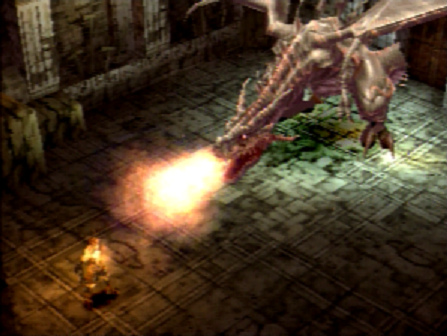 Vagrant Story Boss Battle