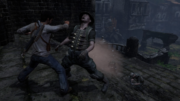 Uncharted Drake Punching