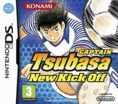 Captain Tsubasa New Kick Off Cover