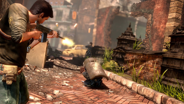 Uncharted 2 Shooting