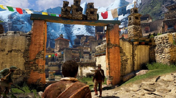 Uncharted 2 Tibetan Village