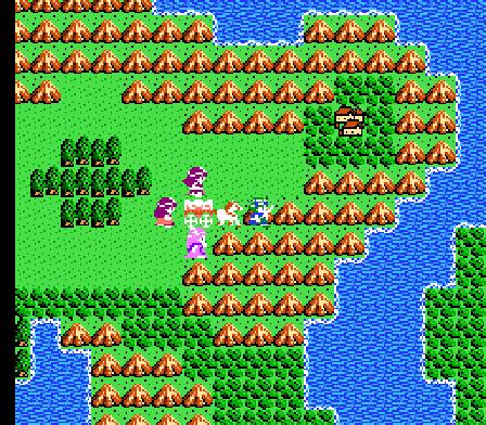 Dragon Quest IV Overworld