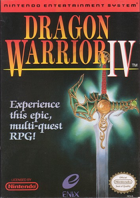Dragon Warrior IV Cover