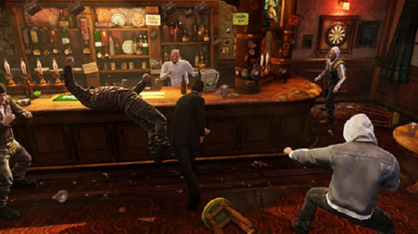 Uncharted 3 Pub Brawl