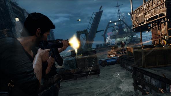 Uncharted 3 Shooting