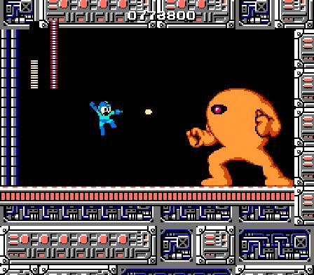 Mega Man Yellow Devil Battle
