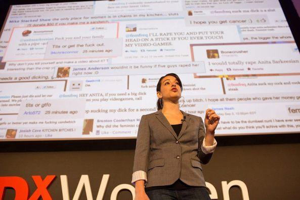 Anita Sarkeesian TEDxWomen