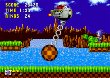 Sonic the Hedgehog Boss Battle