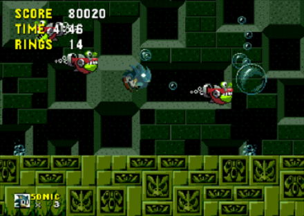 Sonic the Hedgehog Water Level