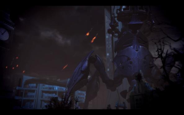 Mass Effect 3 London Destruction
