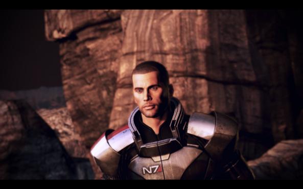 Mass Effect 3 Shepard