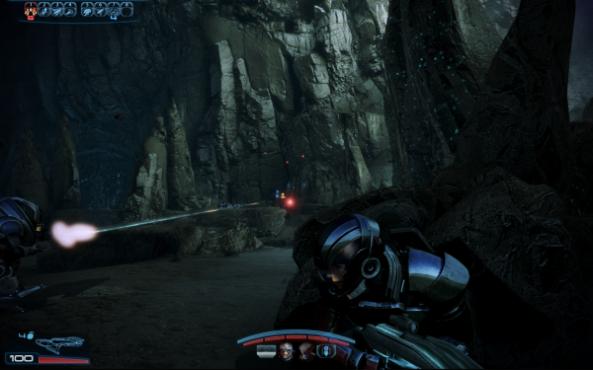 Mass Effect 3 Shooting
