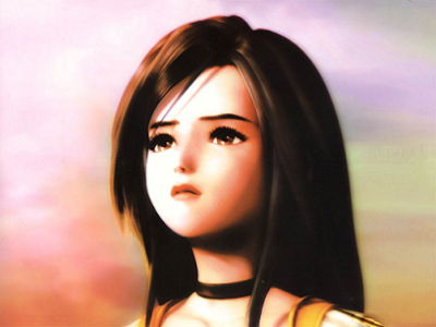 Final Fantasy IX Garnet Face
