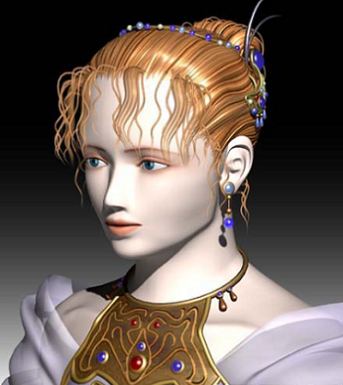 Final Fantasy V Lenna Face