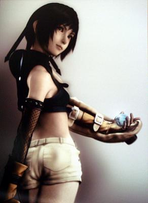 Final Fantasy VII Yuffie CG